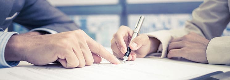 Sign Buying Checklist