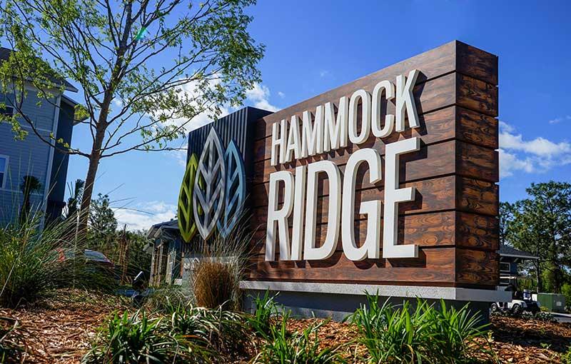 Hammock Ridge Signage