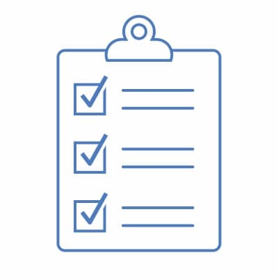 Vector graphic of clipboard and checklist