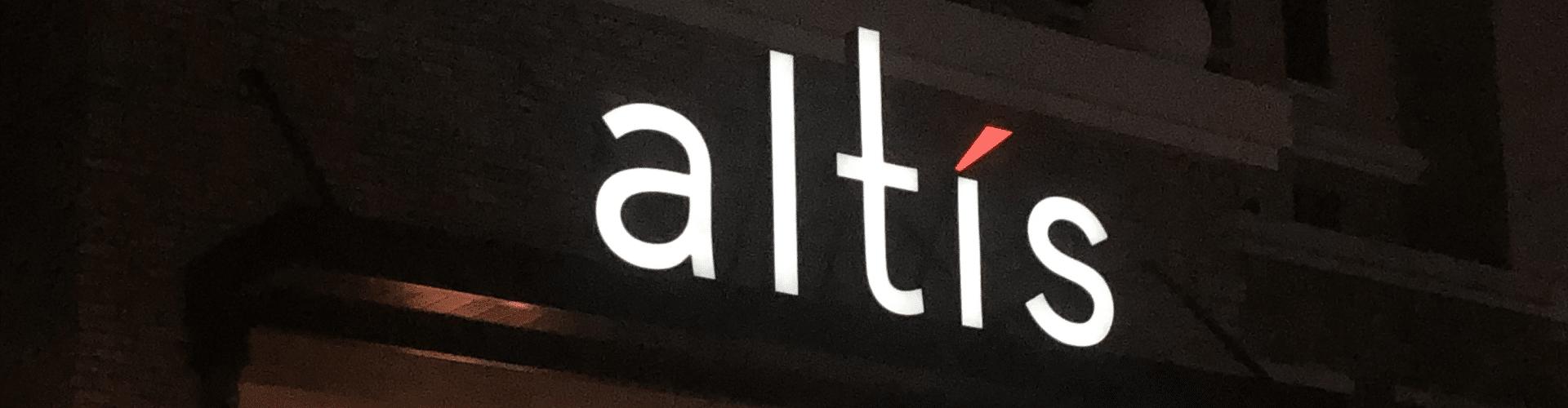 Altis channel letter sign by Oakhurst