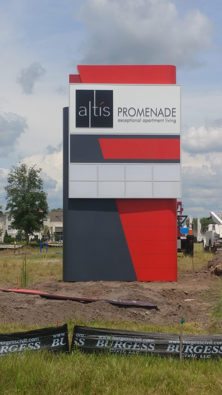Altis Promenade Monument Sign