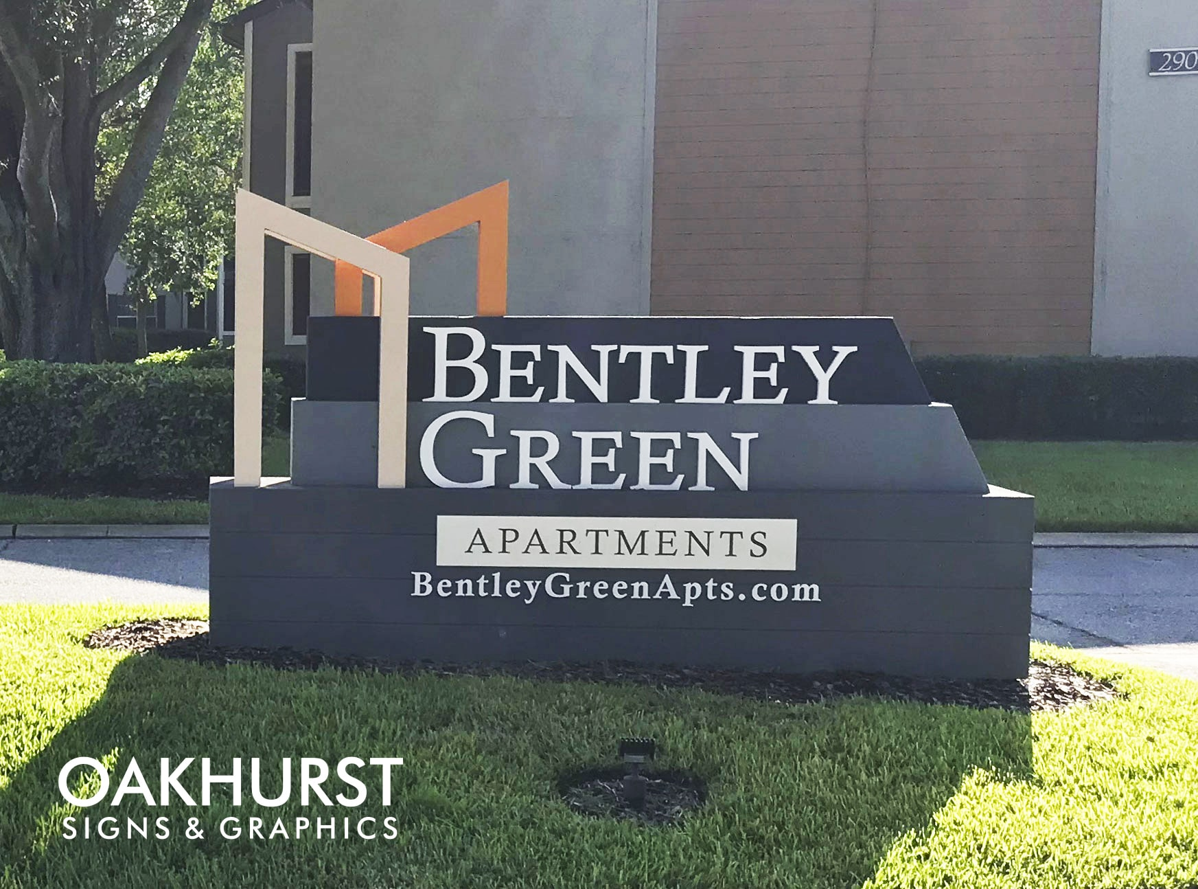 Bentley Green highmark milestone monument