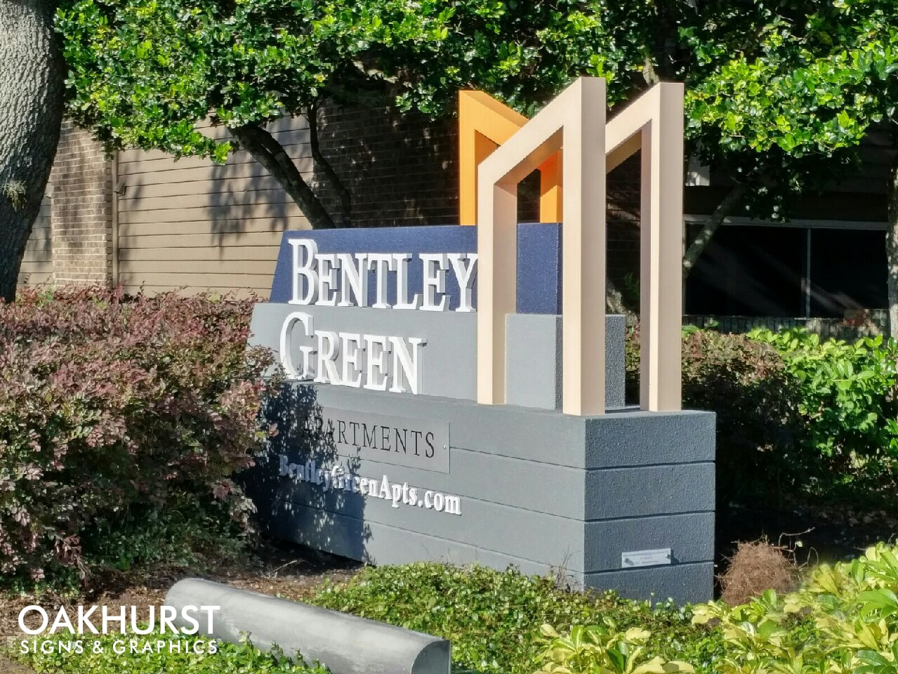 Bentley Green Monument Sign