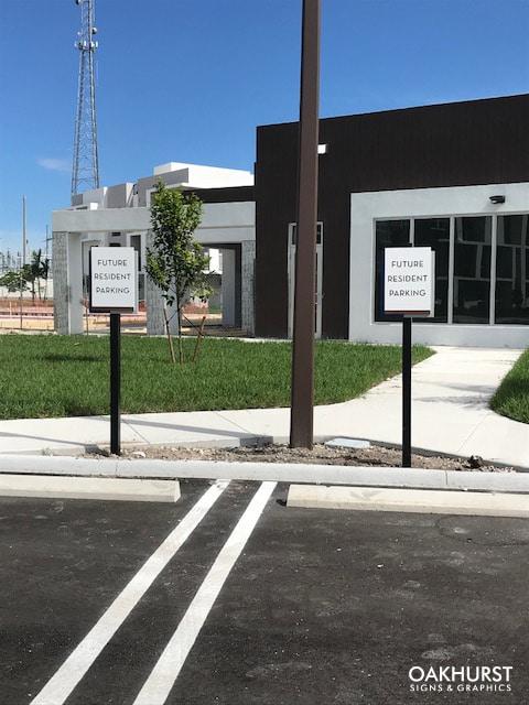 Princeton Park parking signage