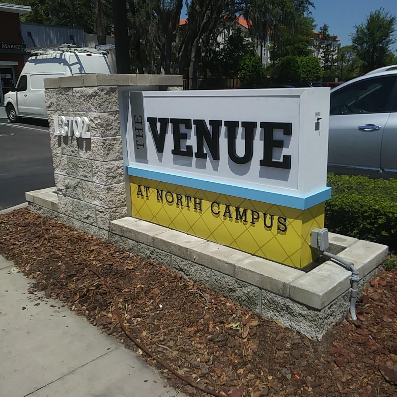 The Venue at North Campus Monument Signage