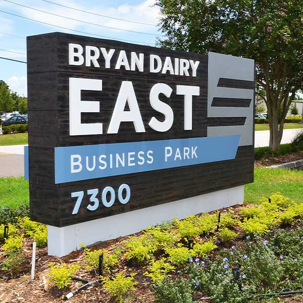 Bryan Dairy East Business Park Signage